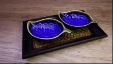 dekorativní set chrámový list
